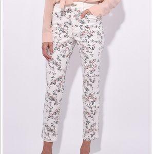 BNWT Rag & Bone Micro Floral Jeans